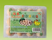 润春农家草鸡蛋12枚