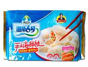 海角6号手工海鲜饺400g虾仁