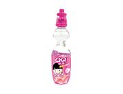 QQ潮爆蜜桃味碳酸饮料