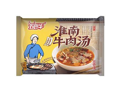 五色牛淮南牛肉汤丝香味(袋)