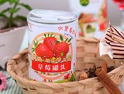 淘优多草莓罐头425g