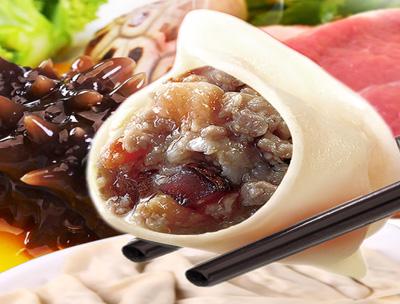 喜知滋肉三鲜馅水饺