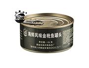 北戴河海鲜风味金枪鱼罐头175克