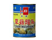 金华宾草菇罐头300g