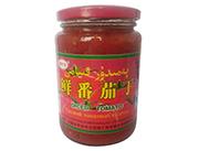 枫叶红番茄酱(玻璃瓶)