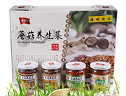 鸿曼曼蘑菇养生菜礼盒