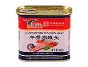 ��金�X340g午餐肉罐�^