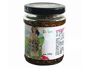婉约草原白蘑菇酱食用菌罐头168g