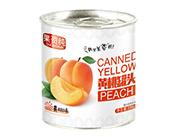 果资纯黄桃罐头256g