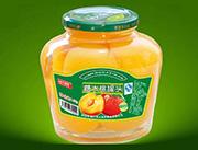 沂蒙大自然糖水桃罐头1250g