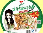 馋福海苔肉松拌饭套餐方便米饭盒装