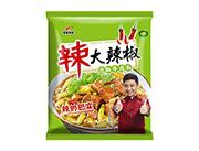 恋圆食品大辣椒泡椒牛肉面108g