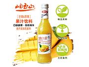 岫玉山芒果、苹果果汁300ml