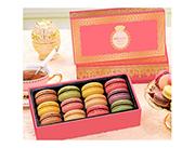 玛呖德法式马卡龙甜点粉色礼盒