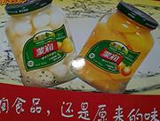 闵农蒙润水果罐头