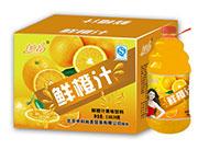 自由者鲜橙汁2.58LX6瓶箱