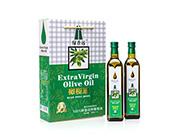 绿香远特级初榨橄榄油750ml×2瓶礼盒装