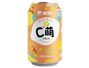 C萌柠檬红茶(黄)310mlx24罐