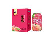 米奇水蜜桃复合果汁饮料310ml×12罐