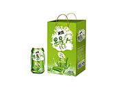 果星人芦荟复合果汁饮料310ml×12罐