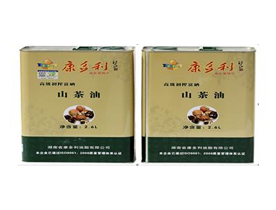 康多利初榨富硒山茶油2.6L
