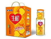 芒果西番莲复合果汁饮料310ml×6瓶