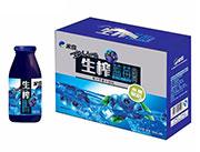 米奇生榨蓝莓复合果汁饮品260ml×8瓶