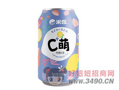 C萌柠檬红茶(蓝)310mlx24罐