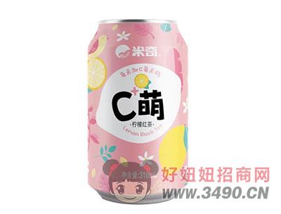 C萌柠檬红茶(红)310mlx24罐