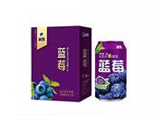 米奇蓝莓复合果汁饮料310ml×12罐
