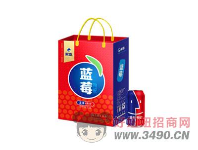 蓝莓枸杞复合果汁310ml×12罐