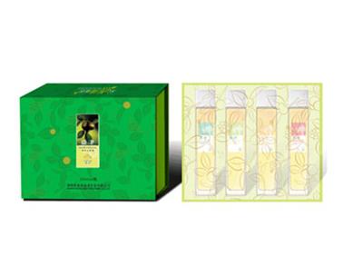 精装有机礼盒茶油250ML×4(绿色装)