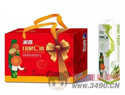 米奇印象C域猕猴桃复合果汁饮料1L×4瓶