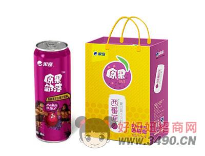 米奇西番莲复合果汁490ml×8罐