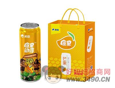 米奇芒果复合果汁490ml×8罐
