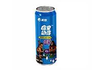 原果部落蓝莓汁490mlx6罐