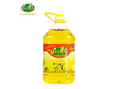 山歌花生浓香食用调和油5L