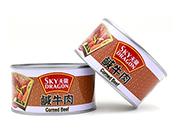 咸牛肉罐头-天龙