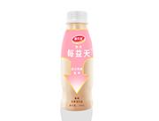 萌乐多快乐每益天原味乳酸菌饮品340ml(红)