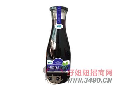 米奇�{莓汁1.5L×6瓶