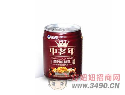 米奇中老年�I�B核桃乳240ml×20罐