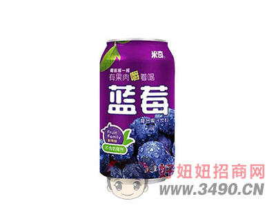 米奇�{莓汁�秃瞎�汁�料310ml×24罐