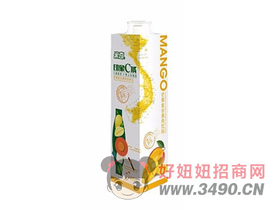 米奇芒果�秃瞎�汁�料1L×8瓶