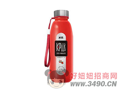 草莓+蔓越莓复合果汁饮料408ml×15瓶