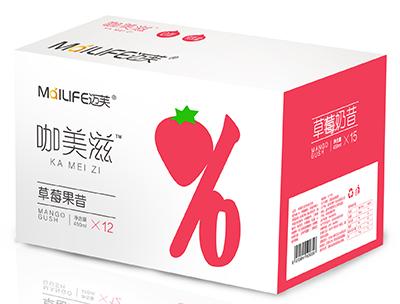迈芙咖美滋草莓奶昔风味饮品450ml×15瓶