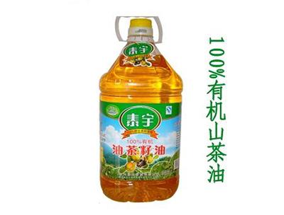 泰宇有机山茶油5L