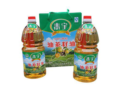 泰宇有机油茶籽油1.8L×2瓶