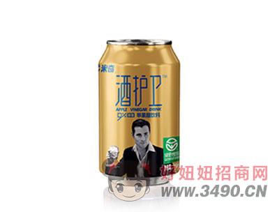 酒护卫苹果醋饮料310mlX24罐
