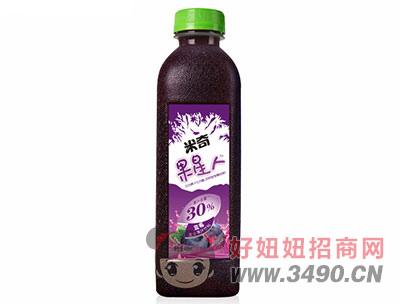 米奇果星人�{莓�秃瞎�汁1.26Lx6瓶