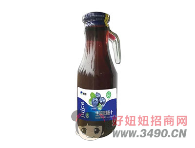 米奇�{莓汁1.46L×6瓶